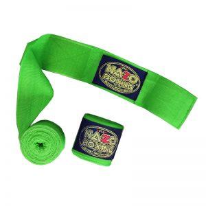 "Elastic Boxing Hand Wraps180"" Green"