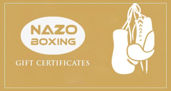 Nazo Boxing Gift Certificates