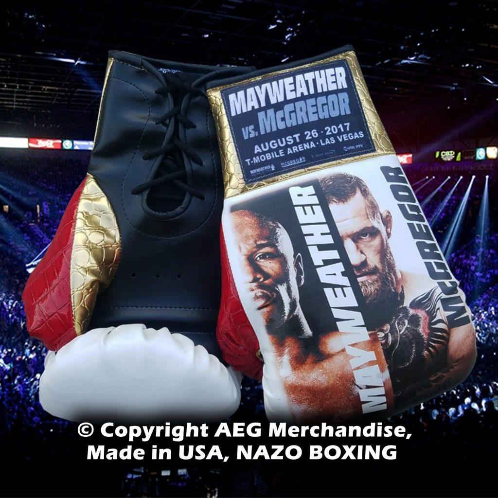 mayweather vs mcgregor glove