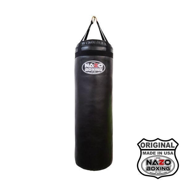 Nazo Boxing Home Edition 50pound punching bag made In USA