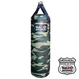 4 FT 85 LB Army Camo Flash Boxing Punching Heavy Bag