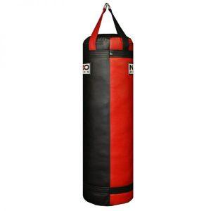 4FT 85LB Black & Red & Orange Punching Heavy Bag