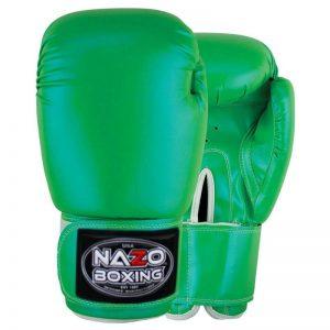 NAZO BOXING GREEN PREMIER BOXING GLOVES