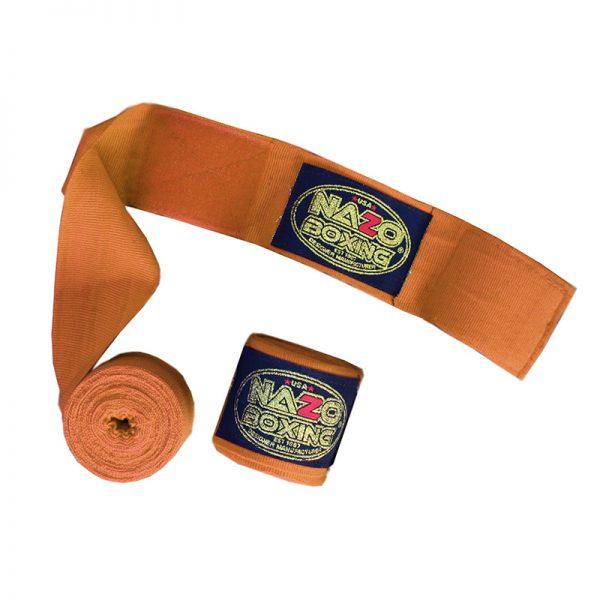 nazo boxing hand wrap orange