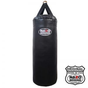 4 FT XL 135 Pound Filled Heavy Punching Bag Black