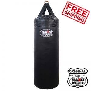 4 FT XL 135 POUND FILLED PUNCHING BAG FREE SHIPPING MADE IN USA