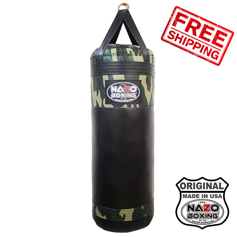 4FT XL Camo Punching Bag Made in USA
