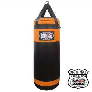 Black Orange PUNCHING BAG 4 FT XL 135 POUND