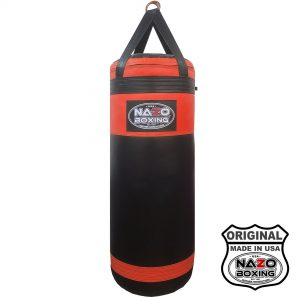 Black RED PUNCHING BAG 4 FT XL 135 POUND