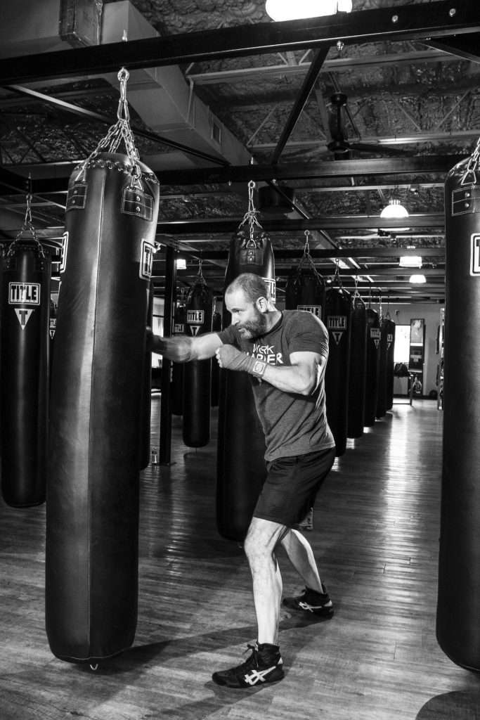 how to workout on a punching bag