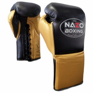 Leather Professional Fight Boxing Gloves